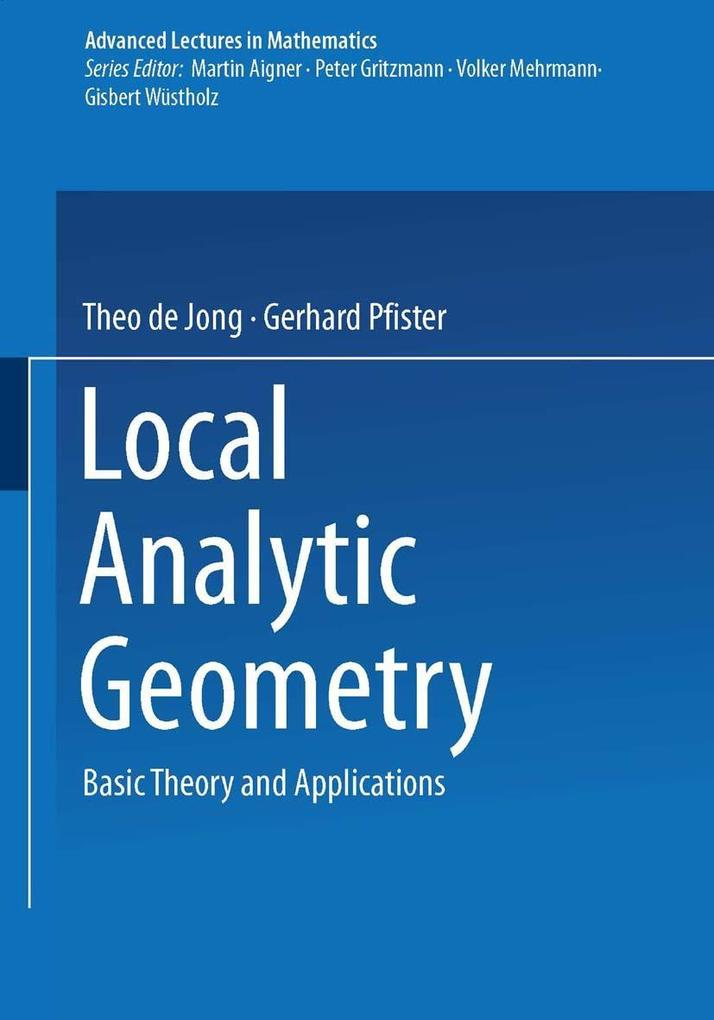 Local Analytic Geometry als Buch