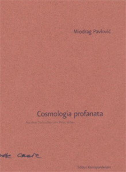 Cosmologia profanata als Buch
