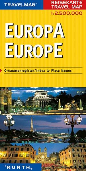 Kunth Reisekarte Europa 1 : 2 500 000 als Buch