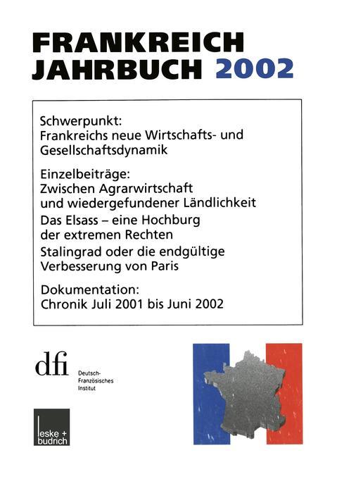 Frankreich-Jahrbuch 2002 als Buch