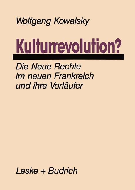 Kulturrevolution? als Buch
