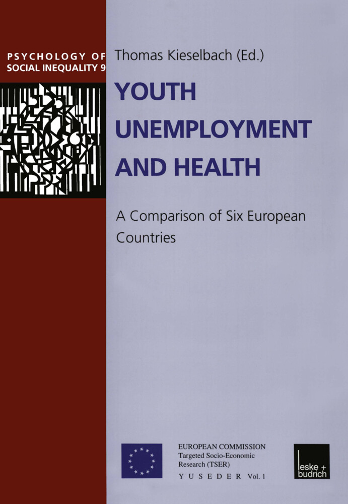 Youth Unemployment and Health als Buch
