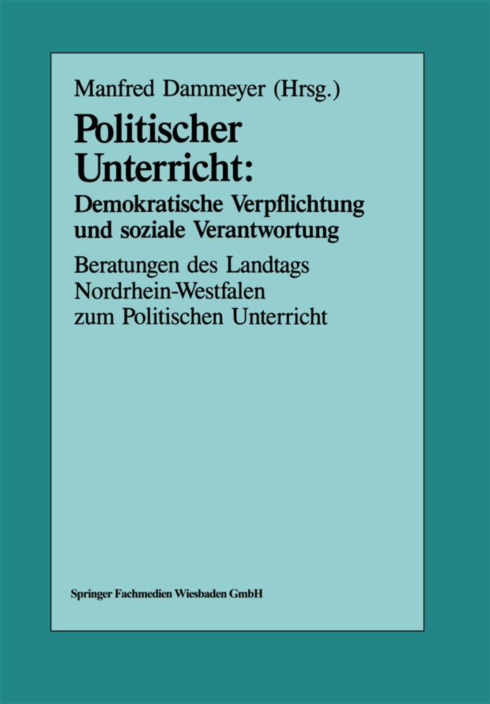 Politischer Unterricht: Demokratische Verpflich...