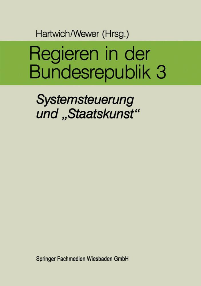 Regieren in der Bundesrepublik III als Buch