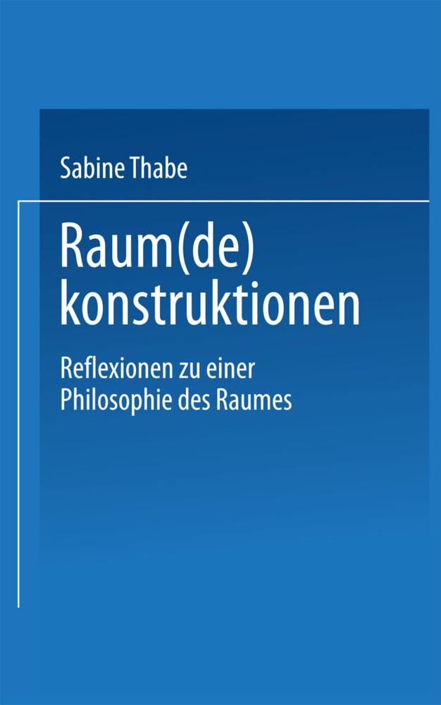 Raum(de)konstruktionen als Buch