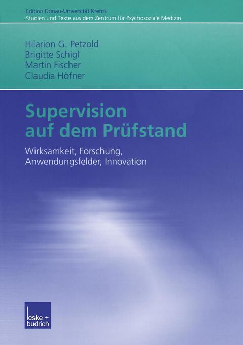 Supervision aufdemPrüfstand als Buch