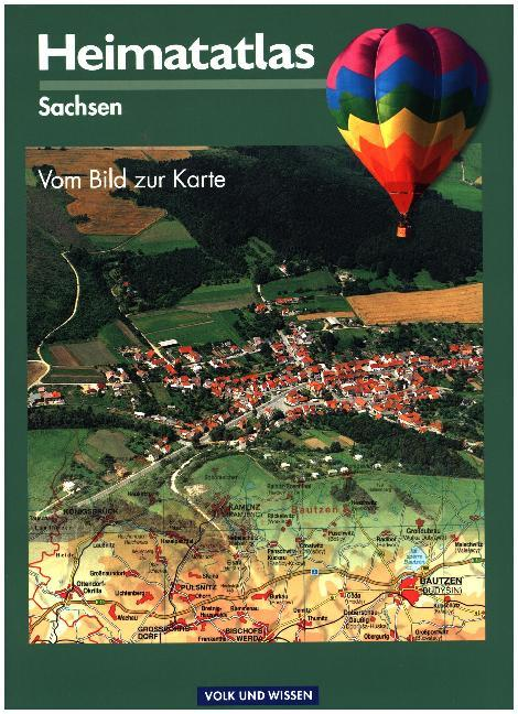 Heimatatlas Sachsen als Buch