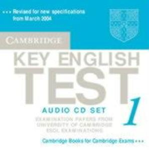 Cambridge Key English Test 1 Audio CD Set (2 CDs): Examination Papers from the University of Cambridge ESOL Examinations als Hörbuch