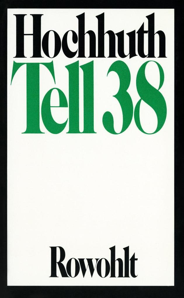 Tell 38 als Buch
