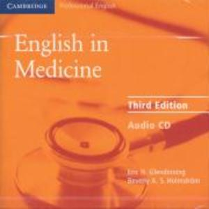 English in Medicine Audio CD als Hörbuch