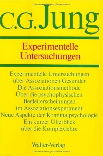 Gesammelte Werke 02. Experimentelle Untersuchungen als Buch