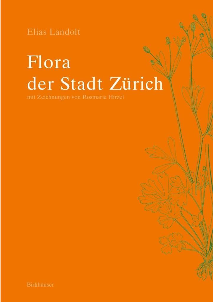 Flora der Stadt Zürich als Buch