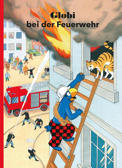 Globi bei der Feuerwehr als Buch