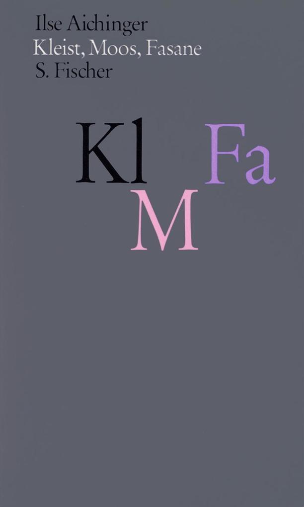 Kleist, Moos, Fasane als Buch