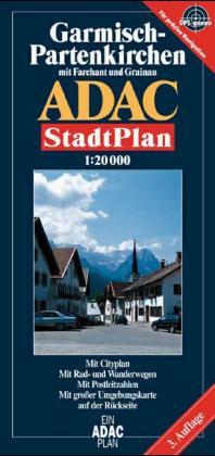 ADAC Stadtplan Garmisch-Partenkirchen 1 : 20 000 als Buch