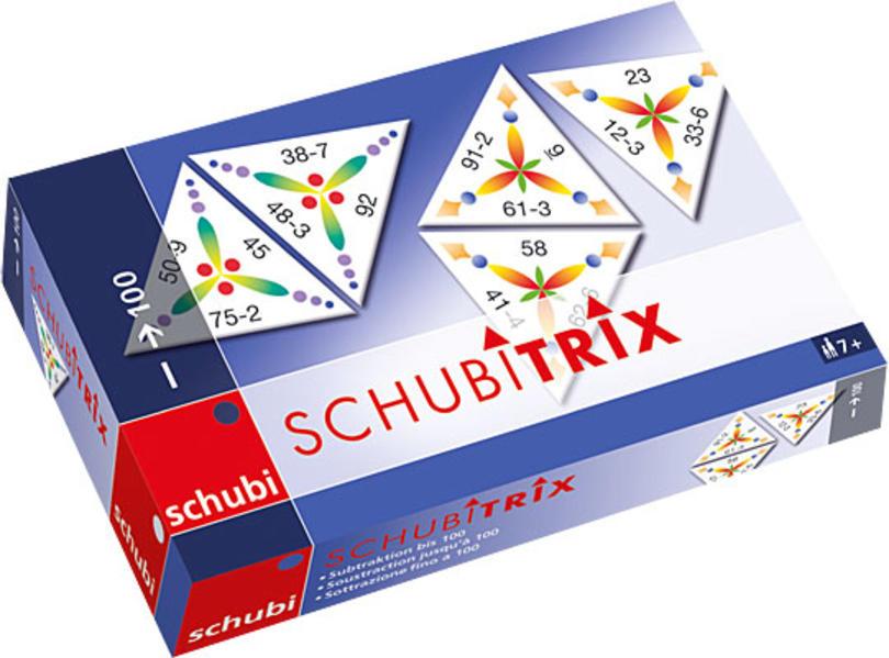 SCHUBITRIX Mathematik. Subtraktion bis 100 als Spielwaren
