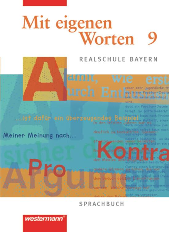Mit eigenen Worten - Sprachbuch für bayerische Realschulen Ausgabe 2001 als Buch