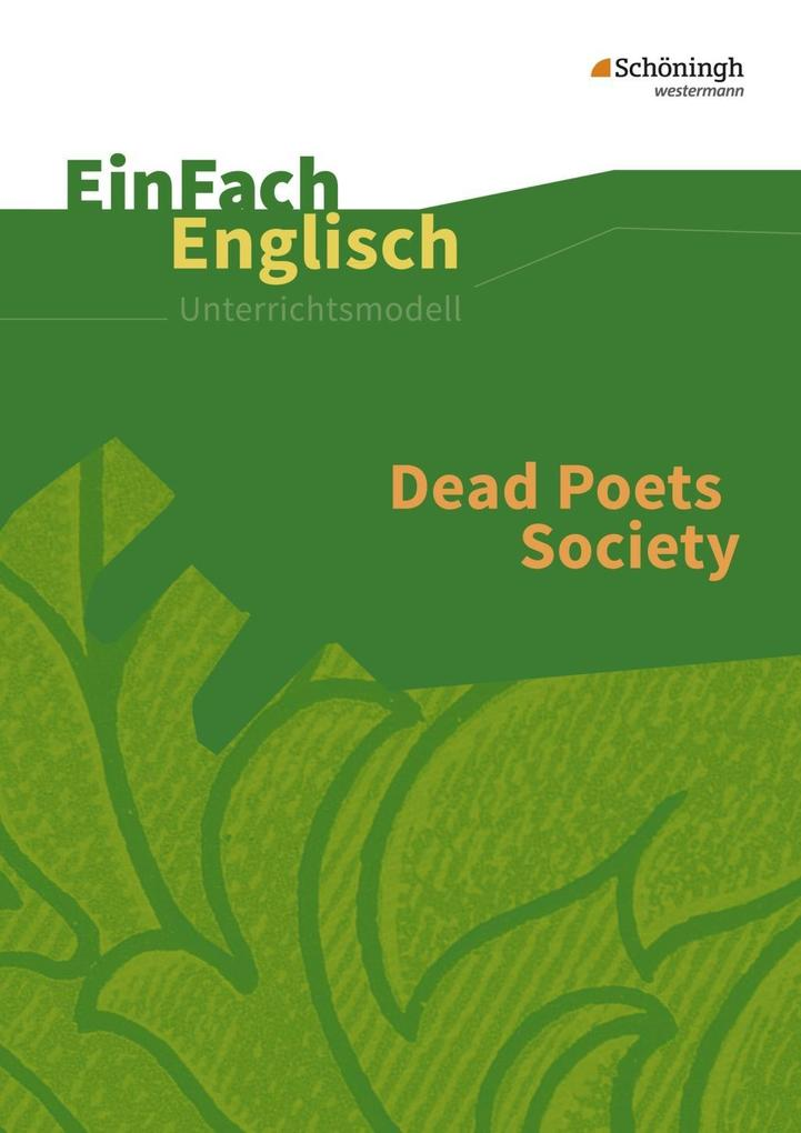 Dead Poets Society: Filmanalyse als Buch