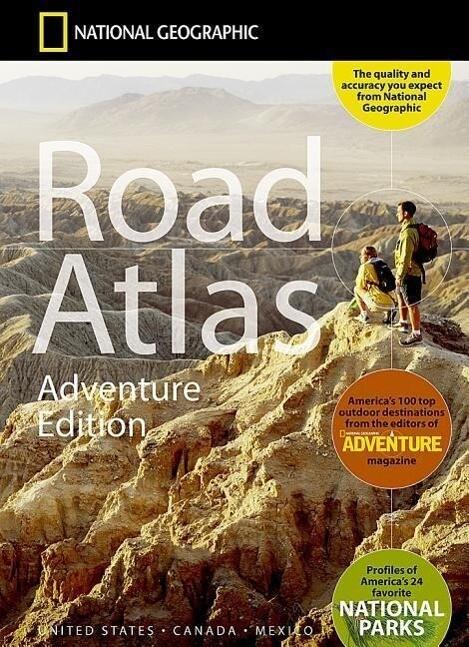 Road Atlas: Adventure Edition [united States, Canada, Mexico] als Taschenbuch