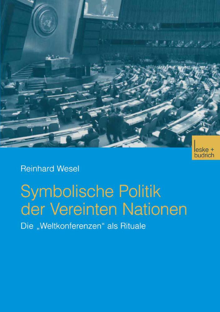 Symbolische Politik der Vereinten Nationen als Buch