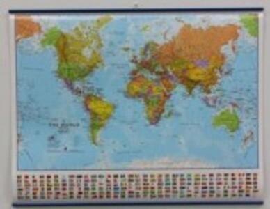 World Political Map als Buch