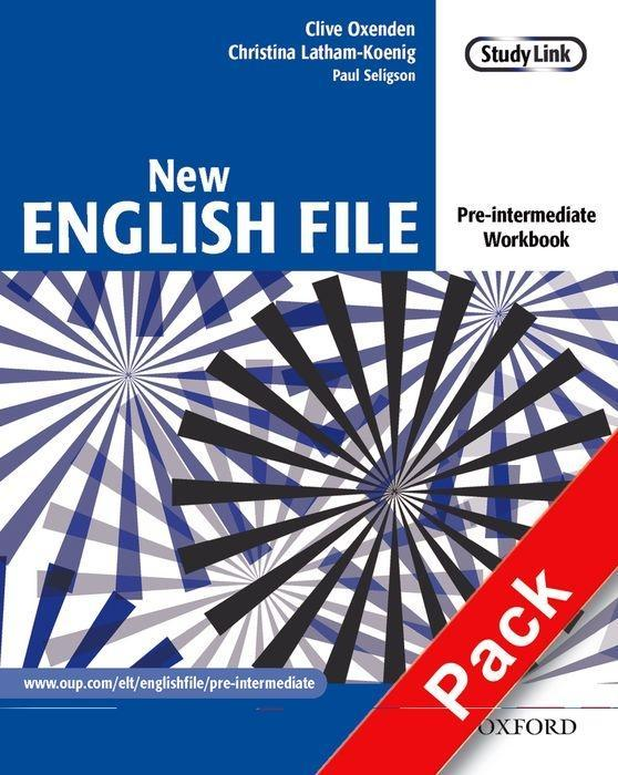 New English File: Pre-intermediate. Workbook with MultiROM Pack als Buch