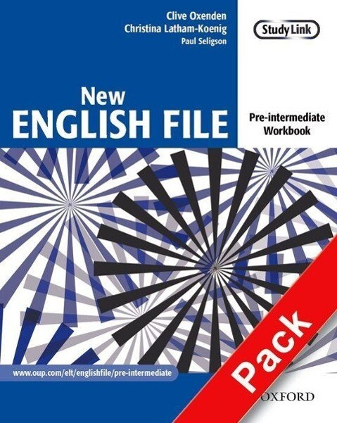 New English File: Pre-intermediate: Workbook with key and MultiROM Pack als Buch