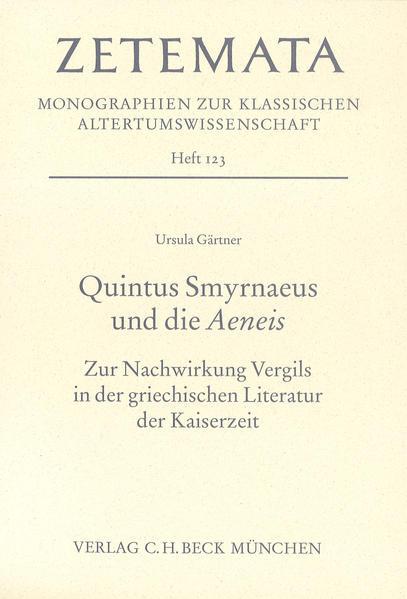 Quintus Smyrnaeus und die Aeneis als Buch
