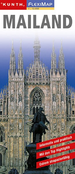 KUNTH FlexiMap Mailand 1 : 14 000 als Buch