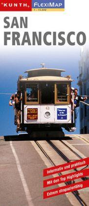 KUNTH FlexiMap San Francisco 1 : 15 000 als Buch