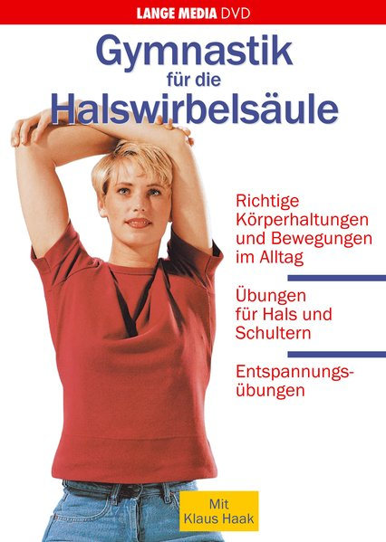 Gymnastik für die Halswirbelsäule als DVD