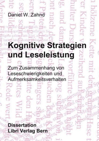 Kognitive Strategien und Leseleistung als Buch