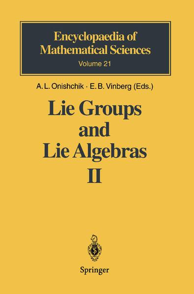 Lie Groups and Lie Algebras 2 als Buch
