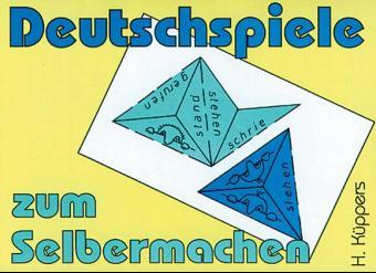Deutschspiele zum Selbermachen als Buch