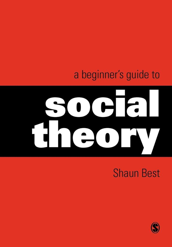 A Beginner's Guide to Social Theory als Buch