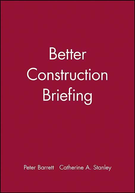 Better Construction Briefing als Buch