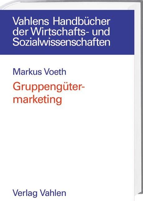Gruppengütermarketing als Buch