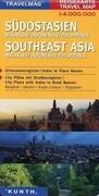 KUNTH Reisekarte Malaysia, Indonesien 1 : 4 000 000