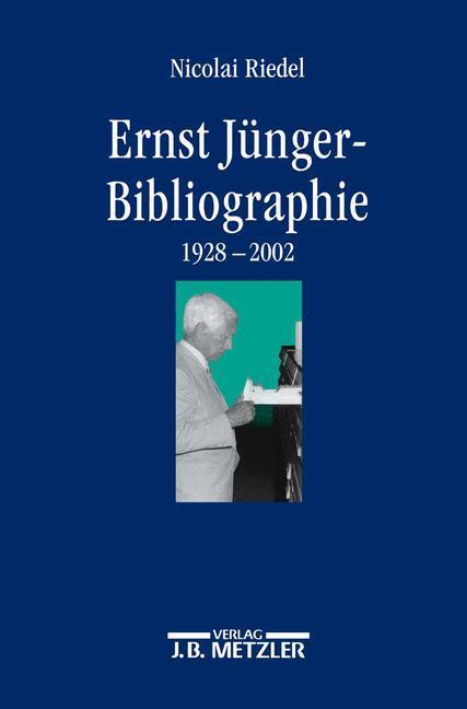 Ernst-Jünger-Bibliographie als Buch