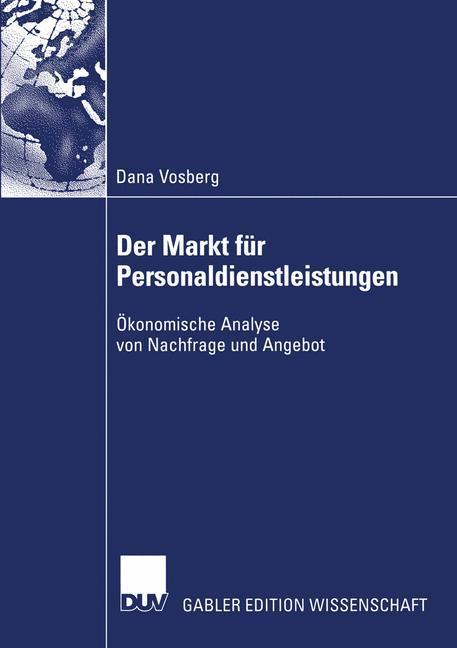 Der Markt für Personaldienstleistungen als Buch