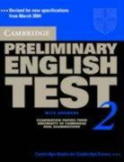 Cambridge Preliminary English Test 2 Student's Book with Answers