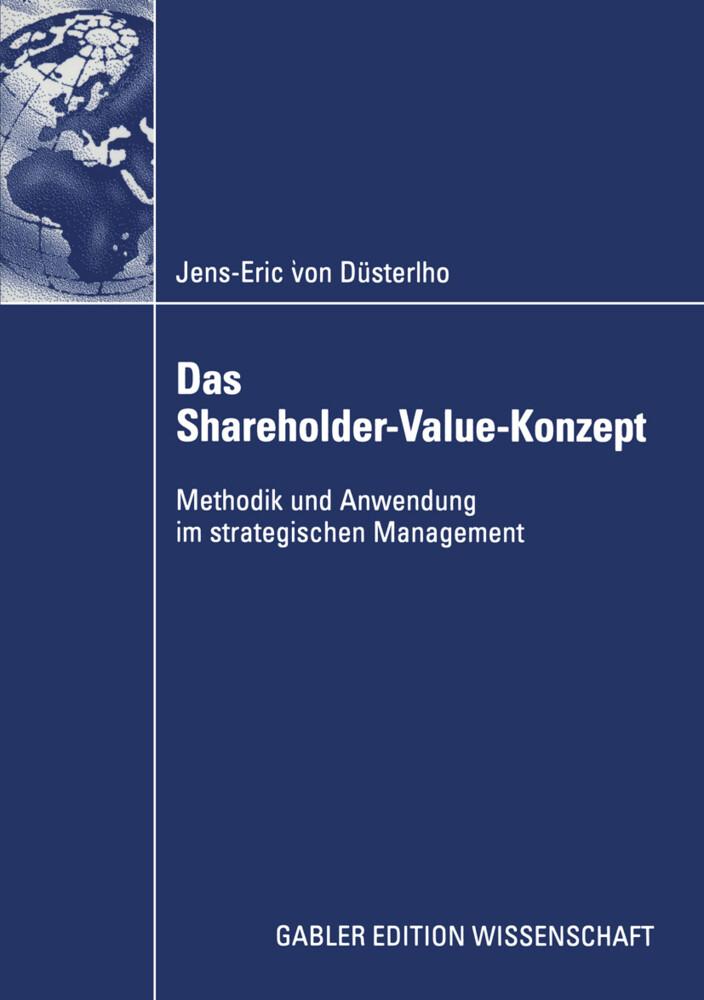 Das Shareholder-Value-Konzept als Buch