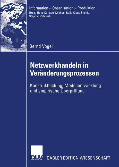 Netzwerkhandeln in Veränderungsprozessen als Buch