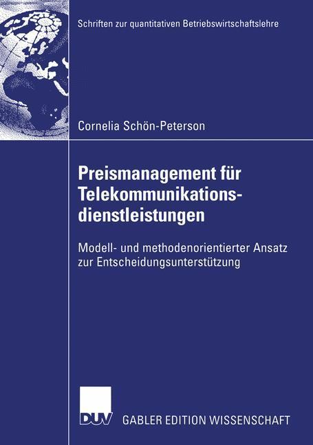 Preismanagement für Telekommunikationsdienstleistungen als Buch