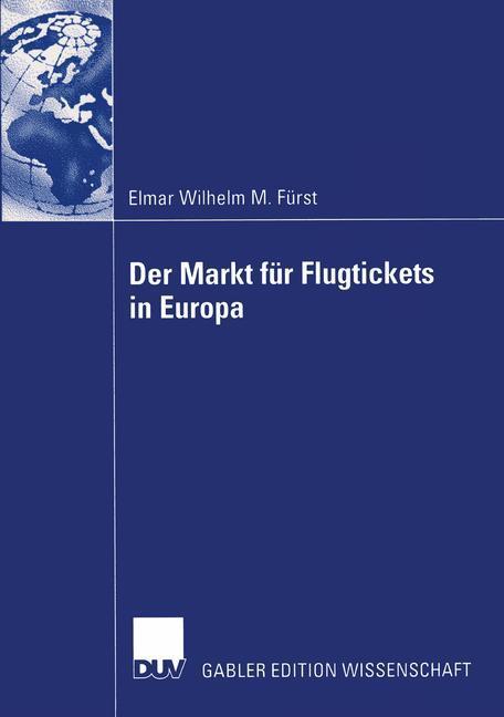 Der Markt für Flugtickets in Europa als Buch