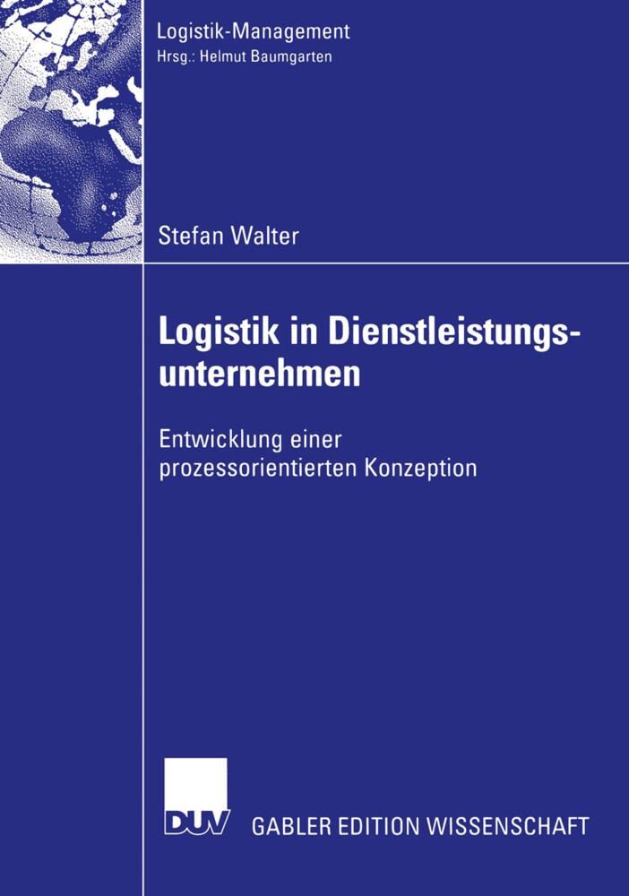 Logistik in Dienstleistungsunternehmen als Buch