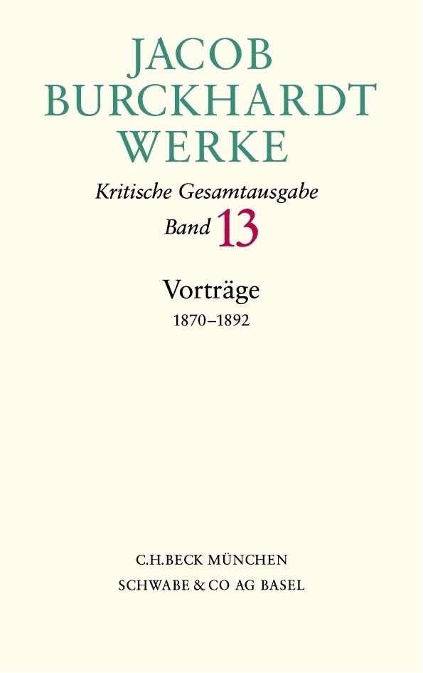 Vorträge 1870-1892 als Buch