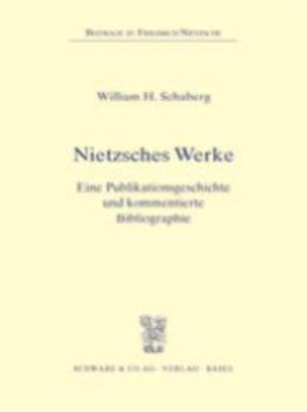 Nietzsches Werke als Buch