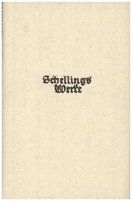 Schelling Werke 5. Ergänzungsband: Philosophie der Mythologie als Buch