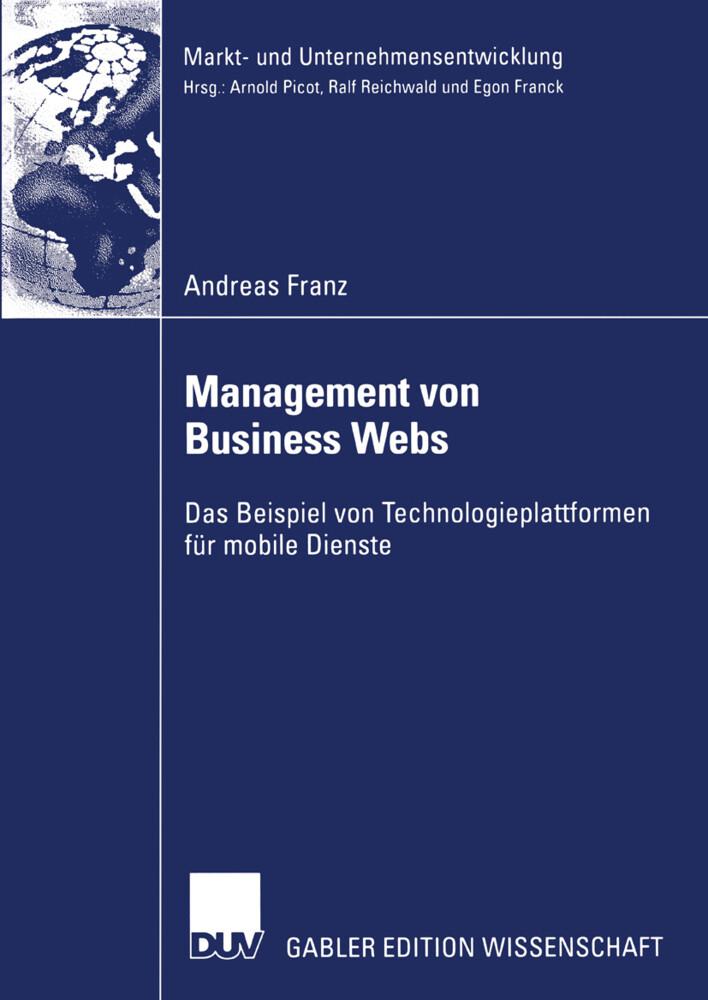 Management von Business Webs als Buch